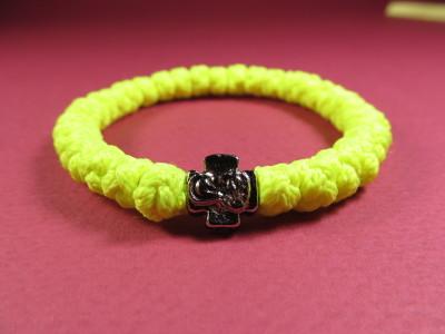 Брояница желтая флуоресцентная с металлическим элементом (тип креста 04)