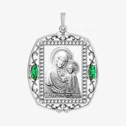 Ладанка серебряная Богородица ЛП-13