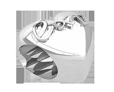 Бусина серебряная Шарм LOVE