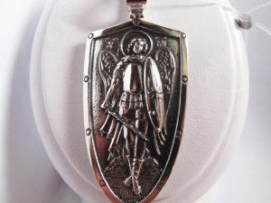 Ладанка серебряная Архангел Михаил