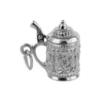 Кулон серебряный Чашка-Заварник 3108
