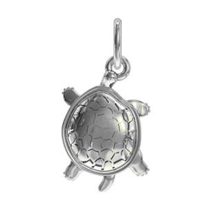 Подвеска серебряная Черепаха 610305