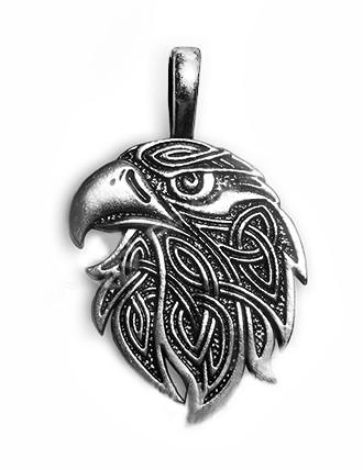 Подвеска серебряная Орел Оберег Солярный Символ Силы и Свободы
